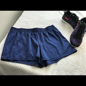 Size L. Navy Blue. Running Shorts